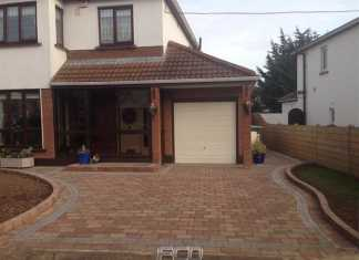 Bury paving installations