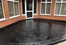Worsley Imprinted Concrete