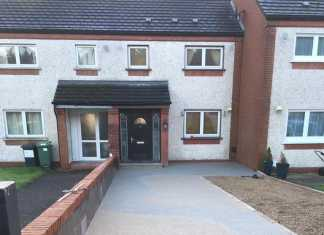 Two-Tone Resin Bound Driveway in Stockport