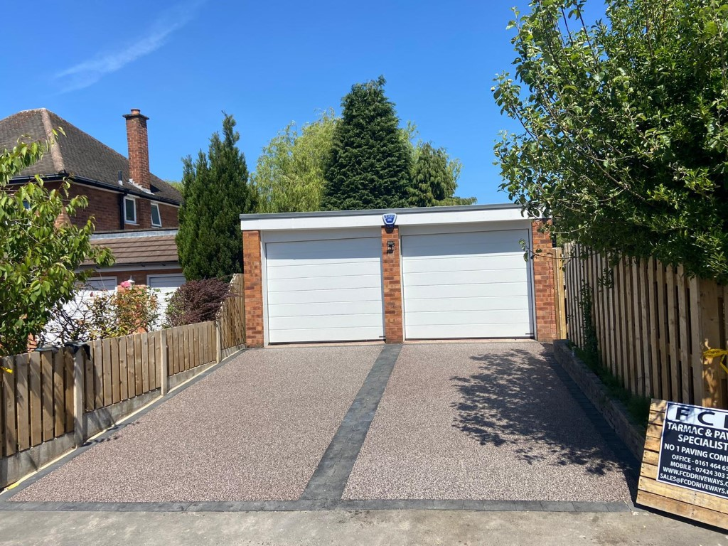 Double Resin Bound Driveway in Cheadle, Stockport