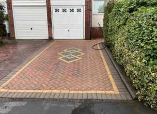Examples of Restored Block Paving Driveways in Woodley
